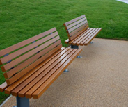 Public Parks Benches for Public Furniture in the UK