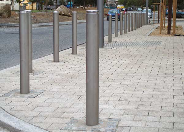 Image result for What are Traffic Bollards?