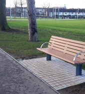 street and park furniture - park bench , Hartecast - commercial benches