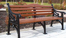 Street Furniture - Phoenix Park Seat