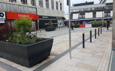 Project News: Town Centre Upgrade, Burnley, Lancashire