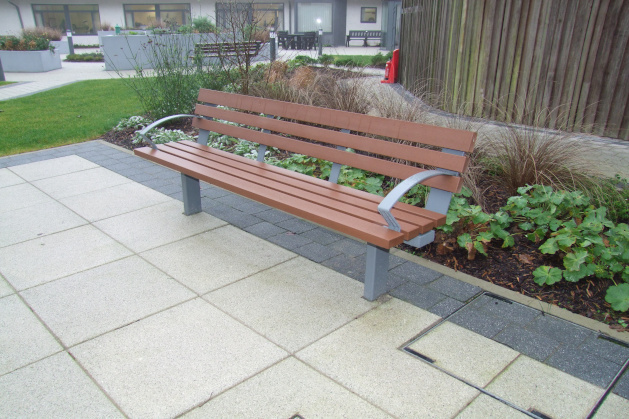 Inclusive street furniture creating an Age Friendly environment