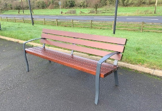 Age Friendly Timber Seat
